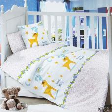 Постельное белье в детскую кроватку KT32 сатин