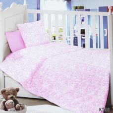 Постельное белье в детскую кроватку KT36 сатин