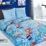 Детское постельное белье Скейтборд 1,5 сп. поплин.
