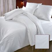 КПБ Страйп-сатин полоса 2 спальный (2 наволочки 70*70)
