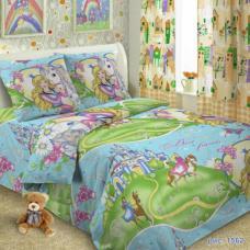 Детское постельное белье Принцесса 1,5 сп. поплин