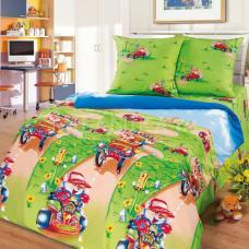 Детское постельное белье Марафон 1,5 сп. поплин.