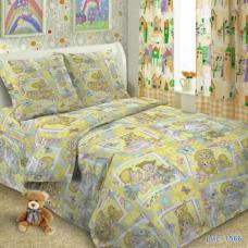 Детское постельное белье Детские забавы 1,5 сп. поплин.