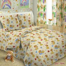 Детское постельное белье Жирафики 1,5 сп. поплин.