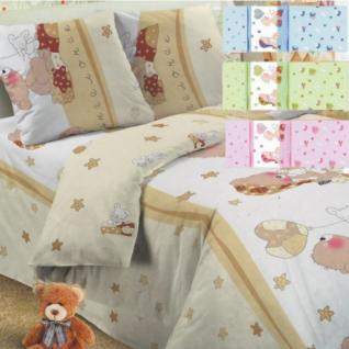 Постельное белье в детскую кроватку Мой ангелочек голубой поплин
