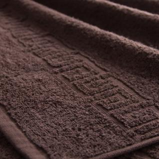 Полотенце махровое Туркменистан цвет Коричневый 70*140