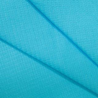 Полотенце вафельное банное цвет голубой 150/75