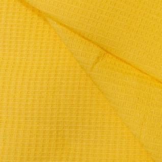 Полотенце вафельное банное цвет желтый 150/75