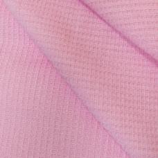 Полотенце вафельное банное цвет розовый 150/75
