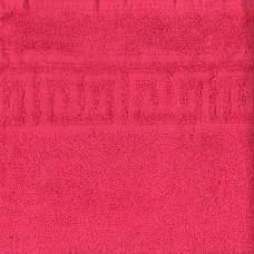 Полотенце махровое Туркменистан цвет Малиновый 50*90