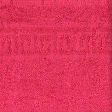 Полотенце махровое Туркменистан цвет Малиновый 70*140
