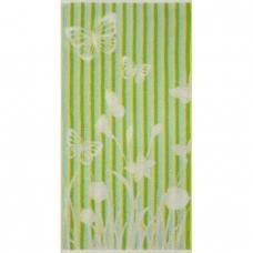 Полотенце махровое Cleanelly Flighty 50/90 см, зеленый