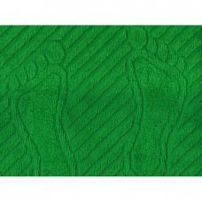 Полотенце махровое 50*70 ножки 700гр Туркменистан цв. зеленый