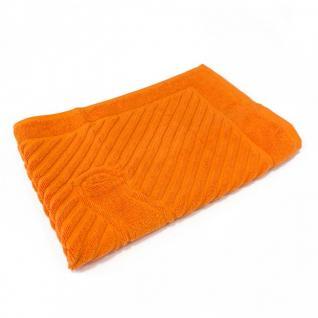 Полотенце махровое 50*70 ножки 700гр Туркменистан цв. оранжевое