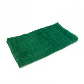 Полотенце махровое Туркменистан цвет Темно-зеленый 40*70