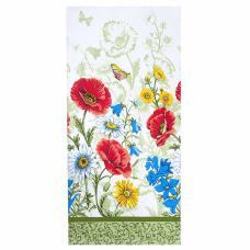 Полотенце вафельное 78361 Полевые цветы 35/75