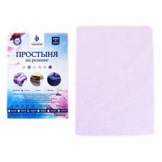 Простынь на резинке махровая цвет розовый 140/200 см