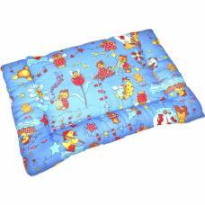 Подушка для новорожденных файбертекс, бязь 40*60