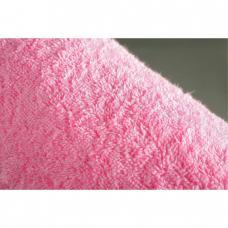 Простынь махровая цвет Розовый р.155/200