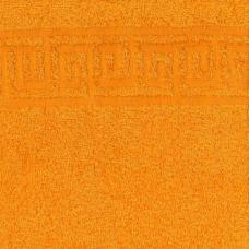 Простынь махровая цвет Желтый р. 190/200