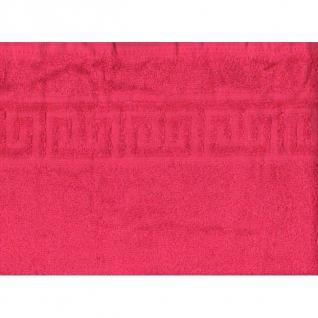 Простынь махровая цвет Малиновый р.155/200