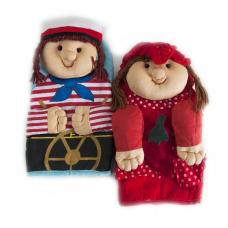 Кукла-прихватка интерьерная №11 (24/13 см) расцветки в ассортименте