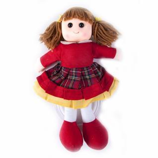 Кукла-вешалка интерьерная №34 (рост 27 см) расцветки в ассортименте