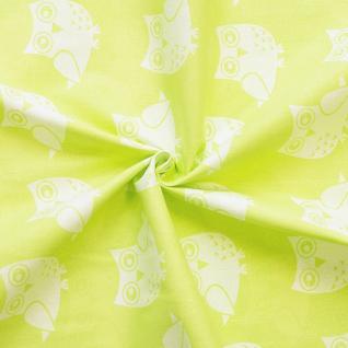 Ткань на отрез бязь плательная №1682/1 цвет салатовый