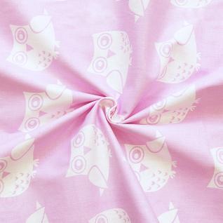 Ткань на отрез бязь плательная №1682/2 цвет розовый