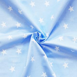 Ткань на отрез бязь плательная №1700/3 цвет голубой