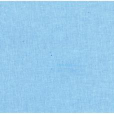 Бязь на отрез гладкокрашеная 120гр шир. 150см цв. голубой