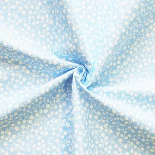 Ткань на отрез бязь плательная №1672/1 цвет голубой