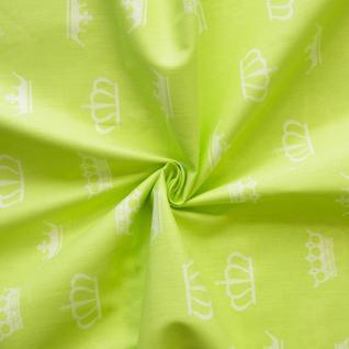 Ткань на отрез бязь плательная №1694/1 цвет салатовый