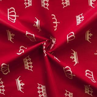 Ткань на отрез бязь плательная №1694/20 цвет красный