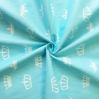 Ткань на отрез бязь плательная №1694/7 цвет бирюза