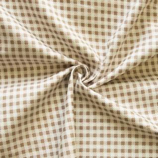 Ткань на отрез бязь плательная №1701/18 цвет кофе