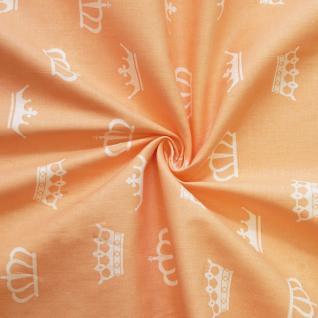 Ткань на отрез бязь плательная №1694/4 цвет персик