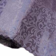 Портьерная ткань на отрез №19 цвет сирень (вензель) 150 см