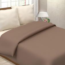 Ткань на отрез поплин гладкокрашеный 115 гр. цв. Мокко 220 см