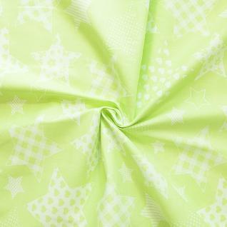 Ткань на отрез бязь плательная №1683/1 цвет салатовый