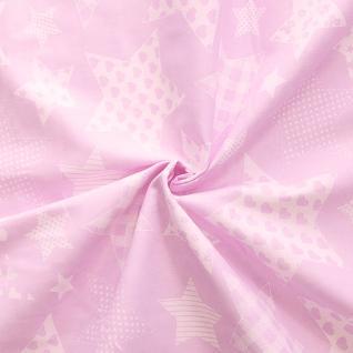 Ткань на отрез бязь плательная №1683/2 цвет розовый