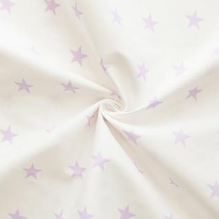 Ткань на отрез бязь плательная №1700А/6 цвет сирень