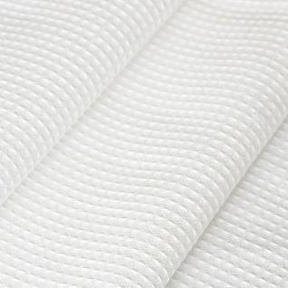Ткань на отрез вафельное полотно отбеленное 50 см, плотность 200 гр