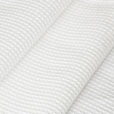 Ткань на отрез вафельное полотно отбеленное, ширина 45см, плотность ГОСТ 240 гр/м2