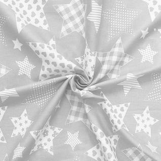Ткань на отрез бязь плательная №1683/17 цвет серый