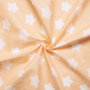 Ткань на отрез бязь плательная №1737/4 цвет персик