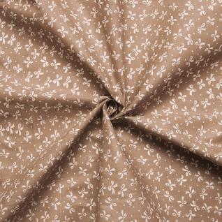 Ткань на отрез бязь плательная №1738/18 цвет кофе
