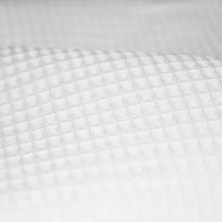 Ткань на отрез вафельное полотно отб, 150 см, 225 гр/м2 ячейка 7х7 мм