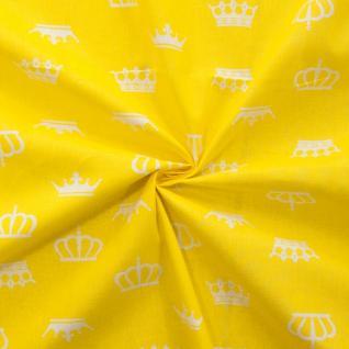 Ткань на отрез бязь плательная №1694/8 цвет желтый