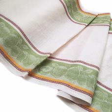 Полулен полотенечный Жаккард цвет салатовый, шир. 50